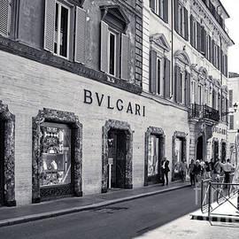 Rome Bw - Bulgari Store in Via dei Condotti  by Stefano Senise