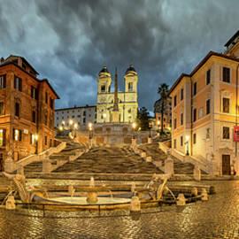 Rome by night by Stefano Politi Markovina