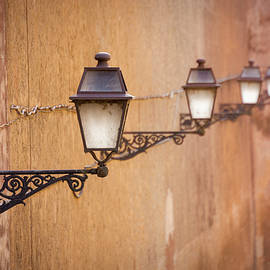 Rome Street Lamps by Dave Bowman
