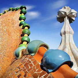 Roof of Casa Batllo by JM Ardevol