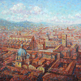Roofs of Bologna by Leonid Polotsky