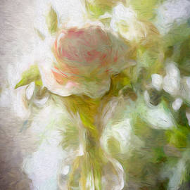 Rose Abstract by Francis Sullivan