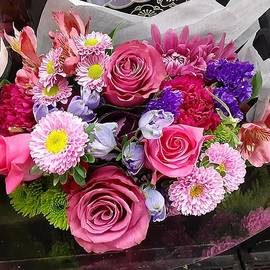 Rose bouquet splendor by Charlotte Gray