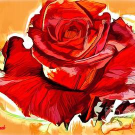Rose of Blessings by Debra Lynch