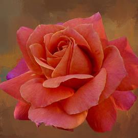 Rose Orange Magenta Shades  by Isabela and Skender Cocoli