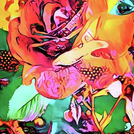 Rose Psychedelia by Susan Maxwell Schmidt