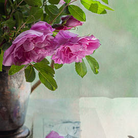 Roses and Aubrey by Maggie Terlecki