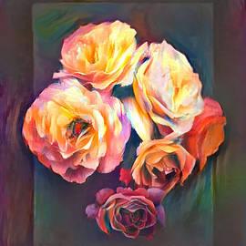 Roses Bouquet Assortment Still Life by Sandi OReilly
