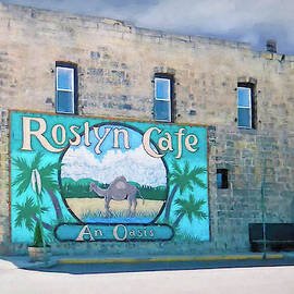 Roslyn Cafe by Donna Kennedy