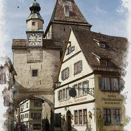 Rothenburg by Lewardeen