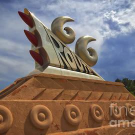 Route 66 Sculpture by Mitch Shindelbower