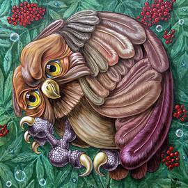 Rowan Owl by Victor Molev