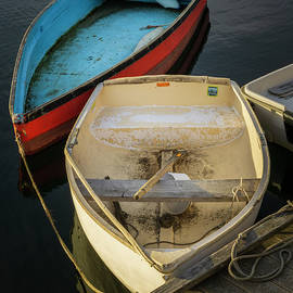 Rowboats Rockport MA III Color by David Gordon