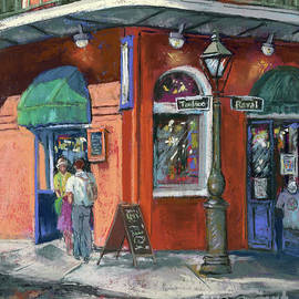 Royal at Toulouse - New Orleans French Quarter by Dianne Parks