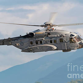 Royal Canadian Air Force Sikorsky CH-148 Helicopter  by Rick Nicholas
