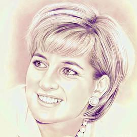 Royal lady Diana by Gull G