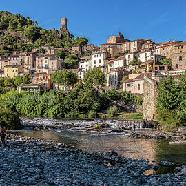 Roquebrun  Southern France by Jim Key