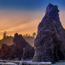 Ruby Beach redux by Mike Penney