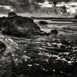 Ruby Beach waves 803 by Mike Penney