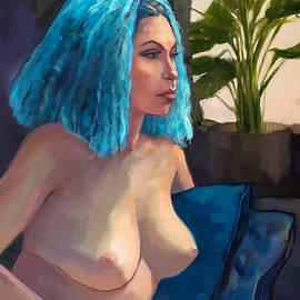 Ruby Blue by Roz McQuillan