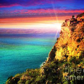 Rugged Coast Of Italy II by Al Bourassa