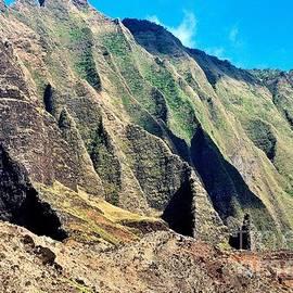 Rugged Napali Coast of Kauai Hawaii by Sherri Hubby