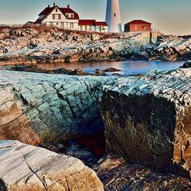 Rugged Terrain in Maine by Frozen in Time Fine Art Photography
