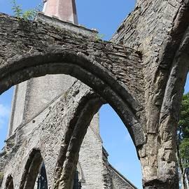 Ruin of a Church by Michaela Perryman