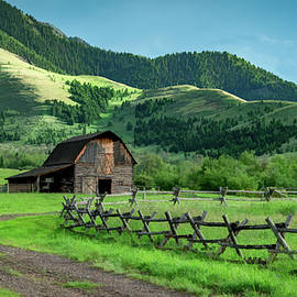 Rural and Rustic in Montana by Marcy Wielfaert