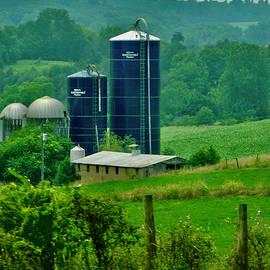 Rural Farm in Virginia by Arlane Crump