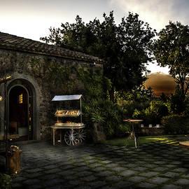 Rural house at sunset by Al Fio Bonina