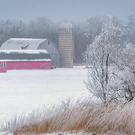 Rural Rim Ice by David Heilman