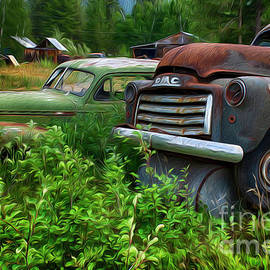 Rust And The Automobile by Bob Christopher