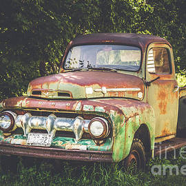 Rusted Ford Truck by Alana Ranney
