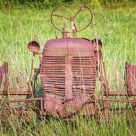 Rusted Tractor in Pamlico County North Carolina by Bob Decker
