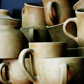 Rustic Cups and Mugs by Alan Socolik