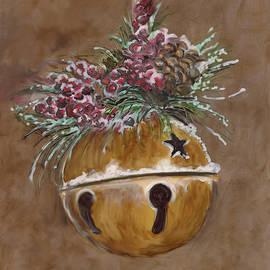 Rustic Jingle Bell by Marcella Chapman