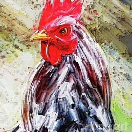 Rustic Rooster by Tina LeCour