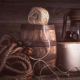 Rustic Still Life with Twine by Tom Mc Nemar