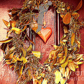 Rustic Wreath by Trudee Hunter