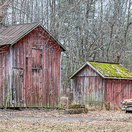 Rusty Barn Car by David Letts