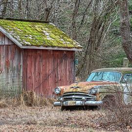 Rusty Barn Dodge by David Letts