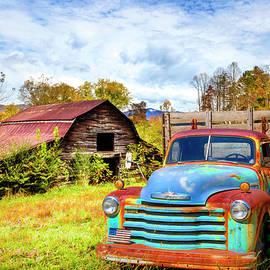 Rusty Big Blue   by Debra and Dave Vanderlaan