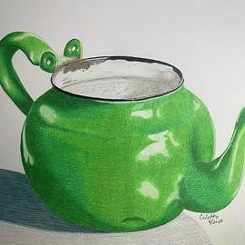 Rusty Lil Teapot by Colette Lee