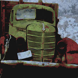 Rusty Old  International Truck by Cathy Anderson