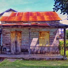 Rusty Roof by Claude LeTien