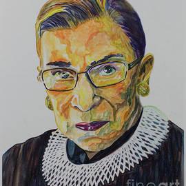 Ruth Bader Ginsburg Portrait by Robert Yaeger