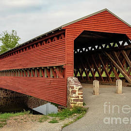 Sachs Covered Bridge by Holly April Harris