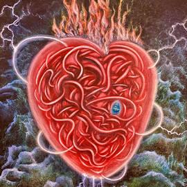 Sacred Heart- The Great Oscillator by Selena Wilson
