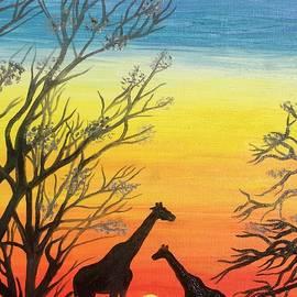 Safari Love. Africa. by Elena Dremova